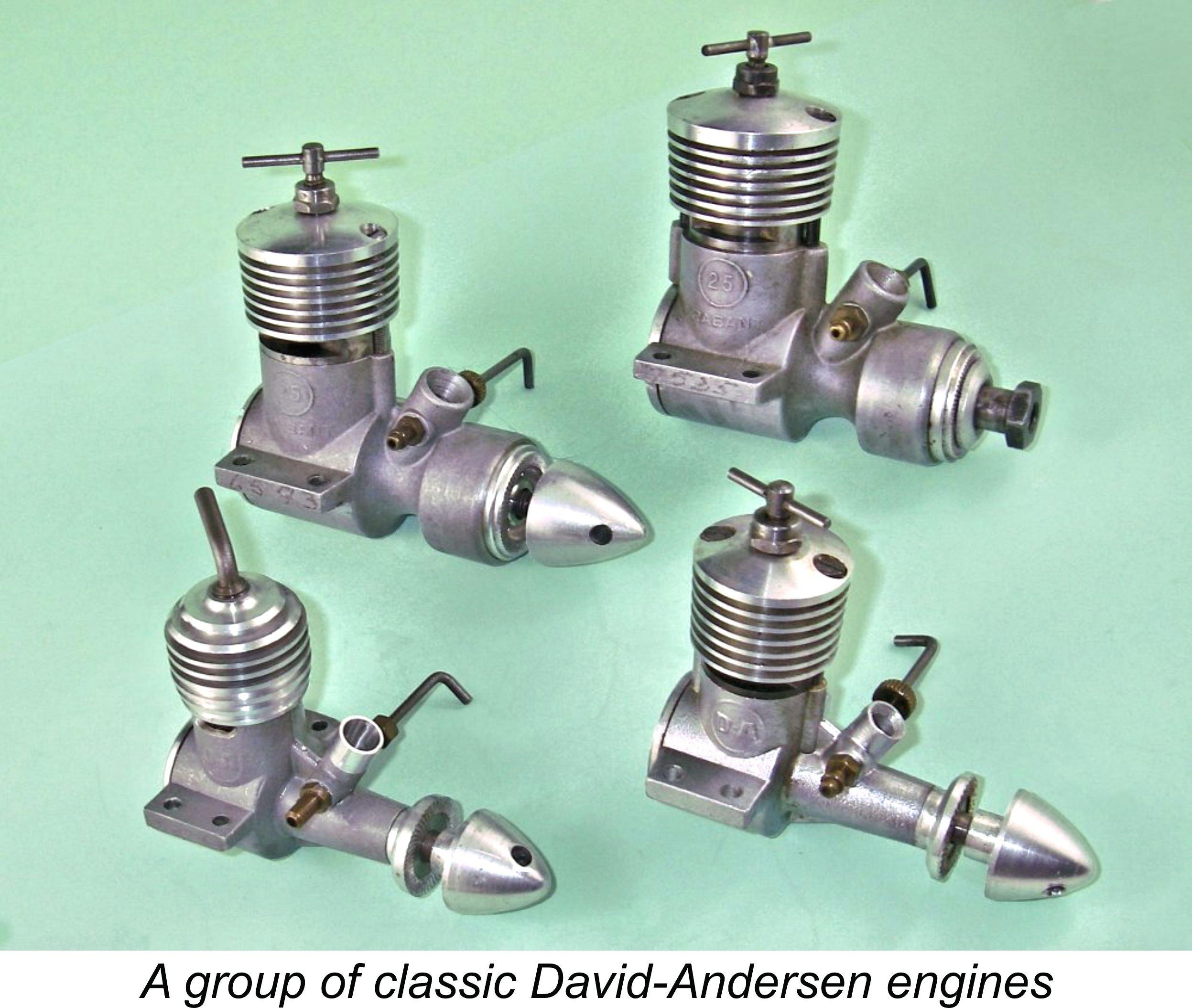 AdriansModelAeroEngines com :: David-Andersen engines